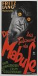 El Testamento del Doctor Mabuse (1933) de Fritz Lang